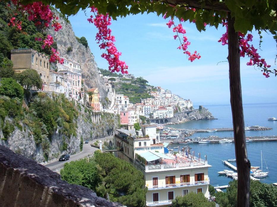 panorama da vagliendola di La bussola Hotel Amalfi
